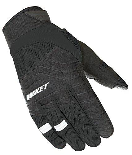 Glove Black Mesh Rocket Joe (Joe Rocket Men's Big Bang 2.1 Gloves (Black, X-Large))