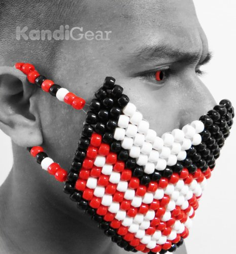 Original Halloween Mask From Kandi Gear- Carnage From Spiderman Kandi Full
