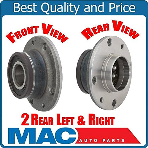 (2) 100% New Wheel Bearing and Hub Assembly Rear 512480 fits 12-16 Fiat 500 Rear Mac Auto Parts