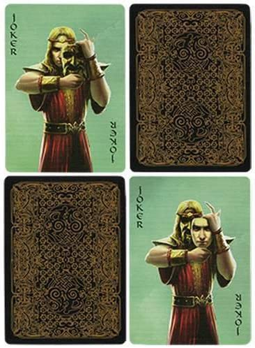 SOLOMAGIA AEsir Gold Playing Cards by Doug Frye Tours et Magie Magique