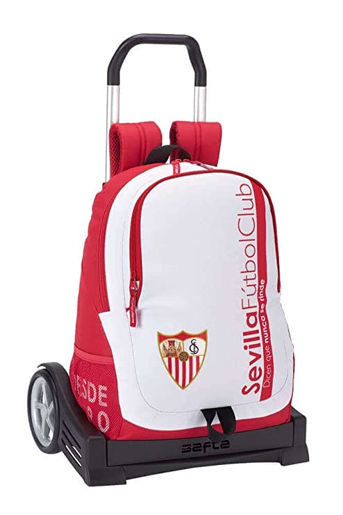 Safta Mochila Espalda Ergonómica Sevilla F.C. Con Carro ...