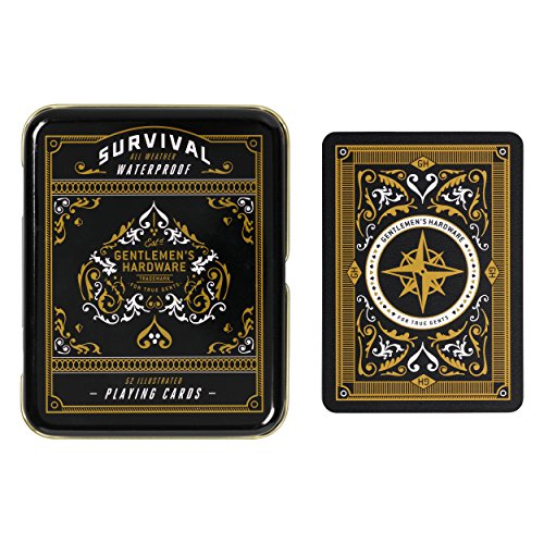 Gentlemen's Hardware Survival Playing Cards made our CampingForFoodies hand-selected list of 100+ Camping Stocking Stuffers For RV And Tent Campers!