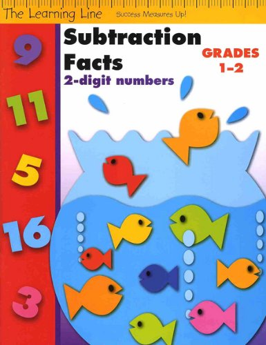 Subtraction Facts, 2-Digit Numbers (Learning Line)