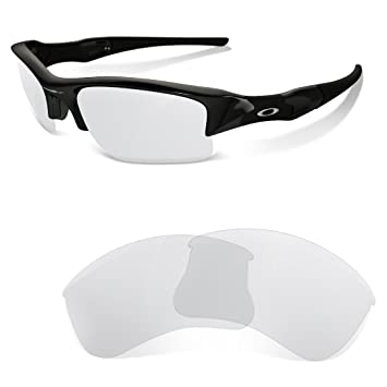 338d1fa619 sunglasses restorer Clear Replacement Lenses for Oakley Flak Jacket ...