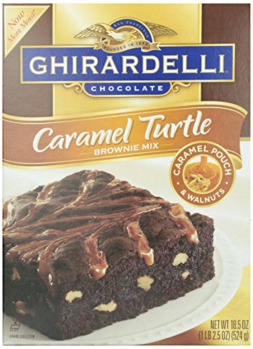 Brownie Turtle - Ghirardelli Turtle Brownie Mix, 18.5 oz
