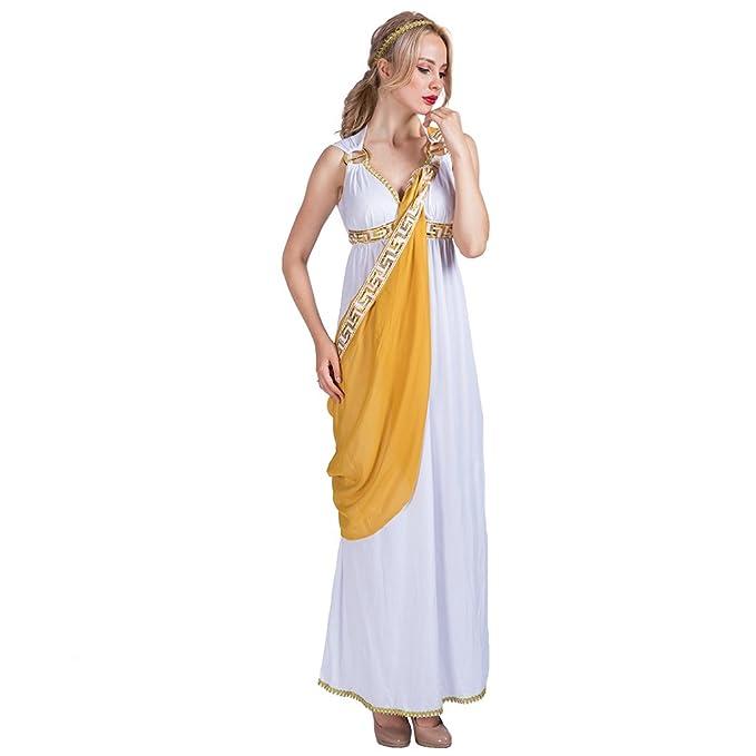 EraSpooky Donna Troy Storico Dea Greca Romano Toga Costume  Amazon.it   Abbigliamento 4f5d86abca8
