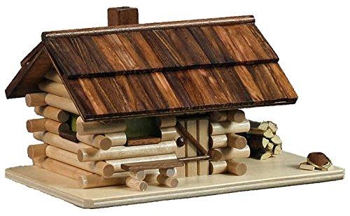 Dregano Log Cabin Incense Smoker Made in - Smoker German