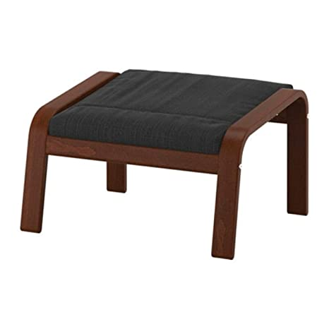 Enjoyable Amazon Com Ikea Poang Ottoman Medium Brown Hillared Ocoug Best Dining Table And Chair Ideas Images Ocougorg