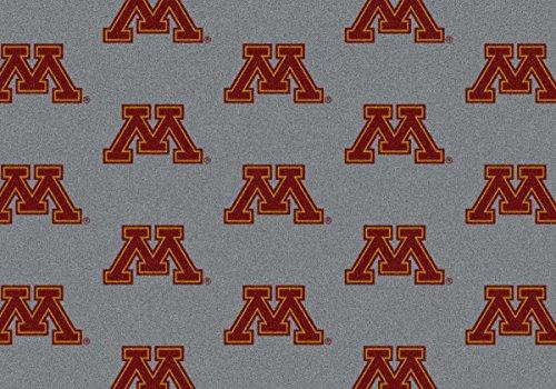 - Milliken Minnesota Golden Gophers NCAA Team Repeat Area Rug (3'10