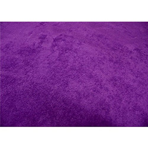 Upholstery Micro Suede Headliner Fabric by The Yard (Purple)