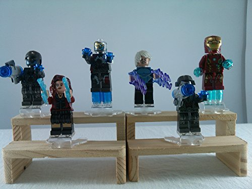 [SUPAK® Iron Man Scarlet Witch Ultron Prime Ultron Sentry officer Ultron Mark 1 QuickSilver Avengers Marvel MiniFigures Toy Super Heroes Series Action Figure Building Blocks Brikcs Set Compatible] (Switch Witch Costume)
