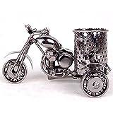 Harley Davidson metal motorcycle pen holder,Creative office desktop accessories,