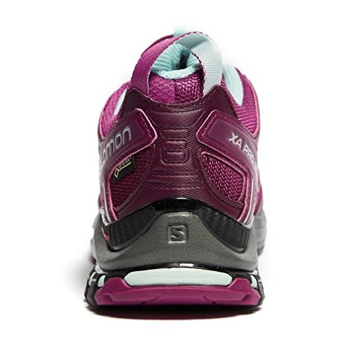Salomon GTX Hollyhock de Dark XA Eggshell Blue Violet Hollyhock Eggshell XX Purple Bleu Chaussures Purple Trail Pro Femme Dark 3D Blue rtatx1q