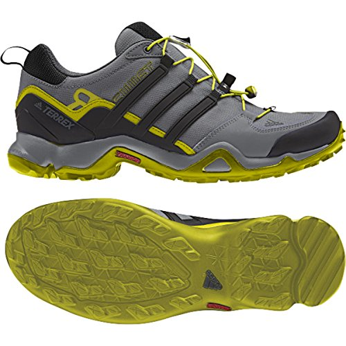 adidas Sport Performance Men's Terrex Swift R Hiking Sneakers, Grey Textile, 9.5 M