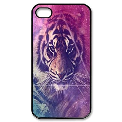 Amazon.com: Tiger Custom Cover Case for Iphone 4,4S,diy ...