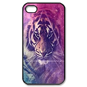 Tiger Custom Cover Case for Iphone 4,4S,diy phone case ygtg539316