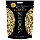 Wonderful® Lightly Salted Pistachios 16 oz. Bag - 3 Bags
