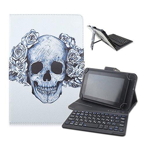 Take Ao 7-8inch Universal Bluetooth Keyboard PU Leather C...