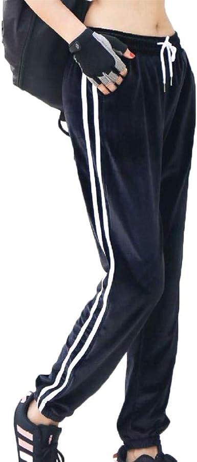 Tasty Life Pantalones De Chándal De Terciopelo para Mujer ...