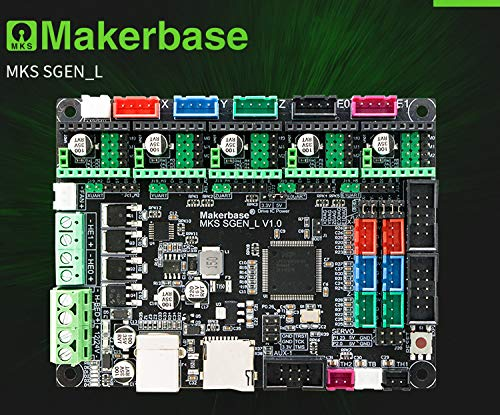 BZ 3D Controller Board New MKS SGen L V1.0 32Bit Motherboard Compatible Uart//SPI Open Source Marlin2.0//Smoothieware Support TMC2208//2130 TFT32//35 for 3D Printer Parts VS SKR V1.3
