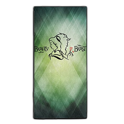 Carina Beauty And The Beast Seamless Outdoor Polyester Velvet Towel One Size