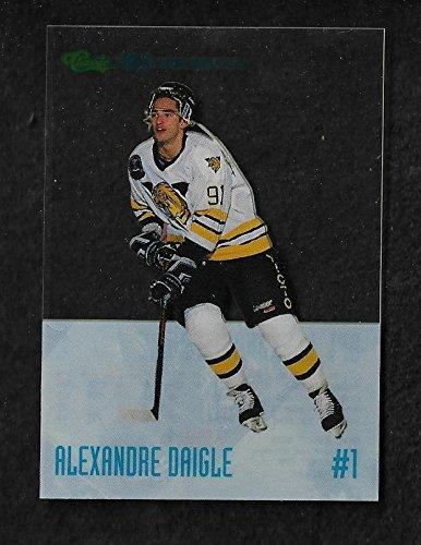 1993 Alexandre Daigle Classic Top Ten Hockey Trading Card #DP1
