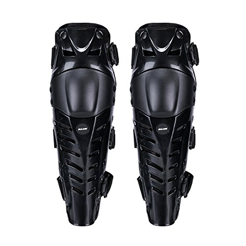 Upgraded Knee Pads, GES Motorcycle Knee Protective Knee Shin Guards by GES