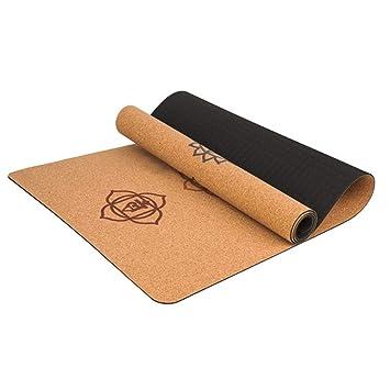 Amazon Com Cheng Store Yoga Matte 5mm Kork Yoga Decke
