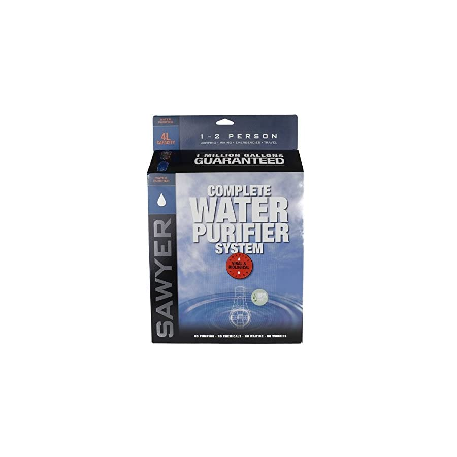 Sawyer Two Bag Complete Water Purifier System