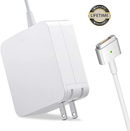Amazon Com Mac Book Pro Charger 60w Magsafe 2 Power Adapter T Tip Magnetic Connector Charger For Mac Book Pro Retina 13 Inch And Mac Book Air After Late 2012 Home Audio Theater