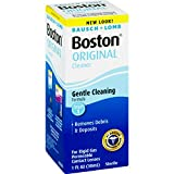Health & Personal Care : Bausch & Lomb Boston Cleaner for Rigid Gas Permeable Contact Lenses, 1 fl oz