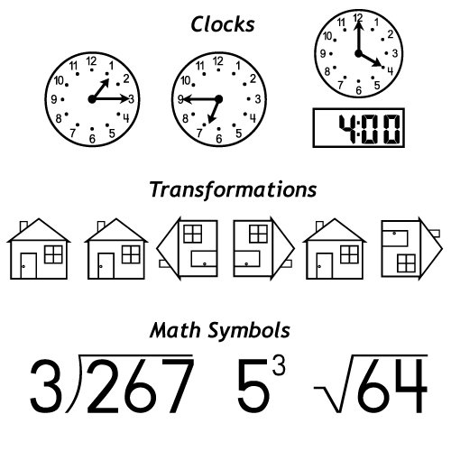 Counting Number worksheets kindergarten cut and paste worksheets free : Amazon.com: 1, 2, 3 Math Fonts, Version 4