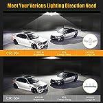 LED Garage Lights 125W Ceiling Lights E26 Deformable Three-Leaf Garage Light 14,000lm Tribright LED Adjustable Light… 9