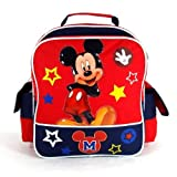"Disney Mickey Mouse - Funny Things Collection 12"" Toddler Size School Backpack"