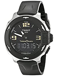 Tissot Mens Quartz Rubber watch #T0814201705700
