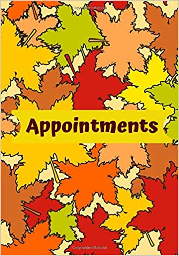 Appointments: Daily Weekly Monthly Appointment Organizer