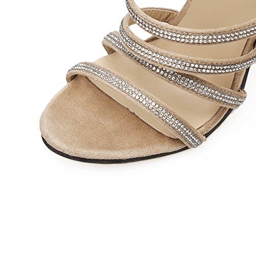 di i tacchi e della Inizio perforazione primavera sottile con campo alti sandali nero acqua con e il bianco belle ZHZNVX ammenda 39 con nuovo scarpe CPUwAq