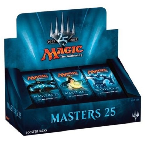 Magic The Gathering  Masters 25  Factory Sealed Booster Box Mtg Card Game   24 Packs