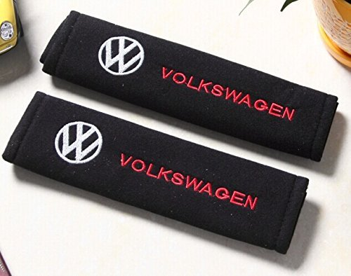 D&R Set of 2 Seat Belt Covers Shoulder Pads For VW Volkswagen by Dr Dry