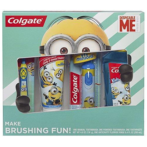 Colgate Kids Toothbrush Toothpaste Mouthwash