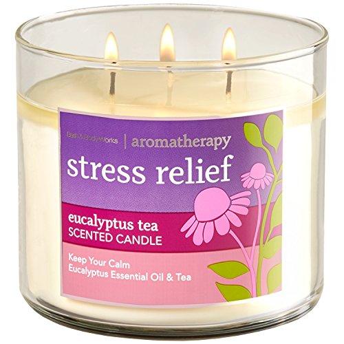 Bath & Body Works EUCALYPTUS TEA Stress Relief Aromatherapy