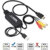 Best Buy Rca To Hdmi Converter Rca To Hdmi Cable Av 3rca Cvbs Composite Audio Video To 1080p Hdmi Adapter Supporting Pal Ntsc For Pc Laptop Xbox Ps3 Ps4 Tv Stb Vhs Vcr Camera Dvd Female To Male