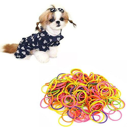Pets Corner Market New Pattern Handmade Pet Dog Cat Beauty Grooming Accessories Rubber Band Headwear Acessorios Para Cachorro Dog Pet Supplies