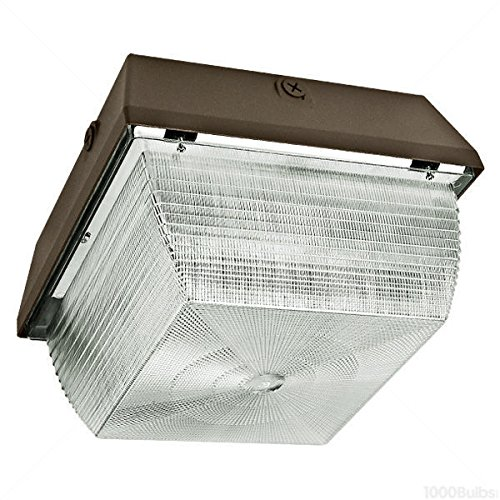 LED Canopy Light - 3000 Lumens - 37 Watt - 165W Equal - 5000K - Bronze Finish - AC Electronics AC012/35/1.0 by AC Electronics