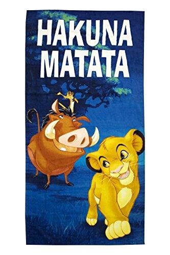 "Disney Lion King Hakuna Matata 28"" x 58"" Cotton Pool/Beac..."