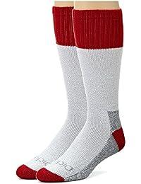 Mens High Bulk Acrylic Thermal Boot Crew Socks, 4 Pair