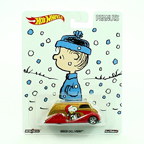 DECO DELIVERY / A CHARLIE BROWN CHRISTMAS Peanuts 2016 Hot Wheels Pop Culture Series 1:64 Scale Die-Cast Vehicle