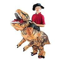 Bodysocks Kids Inflatable Deluxe Dinosaur Fancy Dress Costume