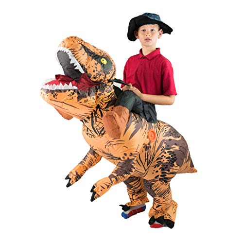 Bodysocks Kids Inflatable Deluxe Dinosaur Fancy Dress