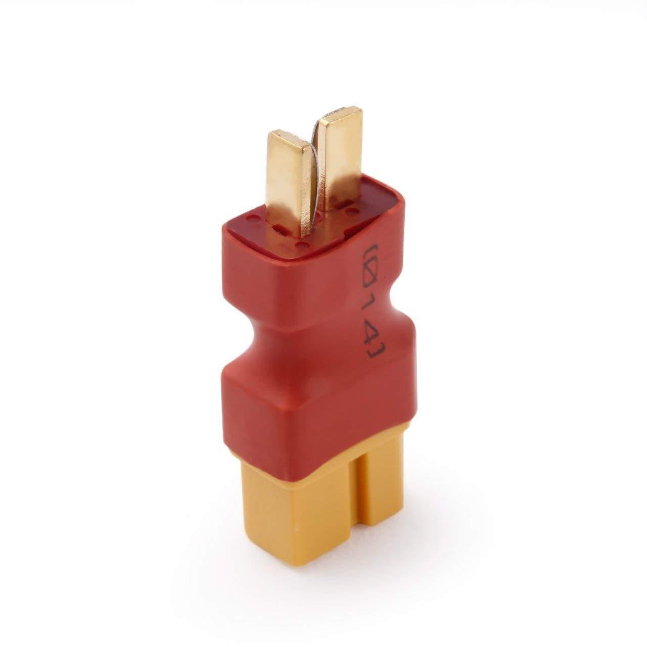 Jasnyfall Zuverlässige ABS RC Batterie Konverter T Stecker Male + TX60 Weiblich für Elektrische Spielzeug Fernbedienung Flugzeug